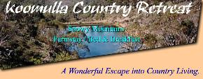 Koomulla Country Retreat - Accommodation Search