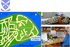 Duchesne College - Accommodation Search