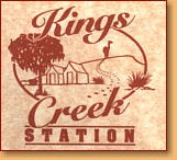 Kings Creek Station - Accommodation Search