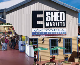 The E Shed Markets - Accommodation Search