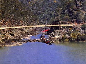 Launceston Cataract Gorge  Gorge Scenic Chairlift - Accommodation Search