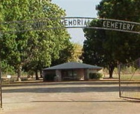Katherine Cemetery - Accommodation Search