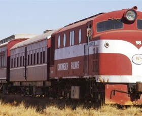 Old Ghan Heritage Railway and Museum - Accommodation Search