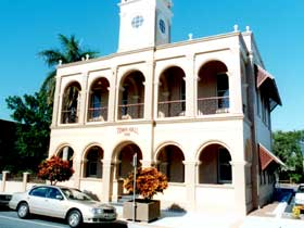 Mackay Town Hall - Accommodation Search