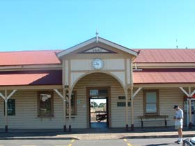Maryborough Railway Station - Accommodation Search