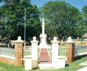 Boonah War Memorial and Memorial Park - Accommodation Search