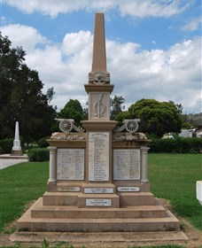 Boer War Memorial and Park Allora - Accommodation Search