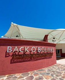 Back O Bourke Exhibition Centre - Accommodation Search
