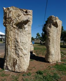 Fossilised Forrest Sculptures - Accommodation Search