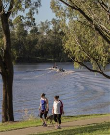 St George Riverbank Walkway - Accommodation Search