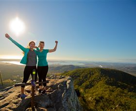 Mount Larcom Climb - Accommodation Search