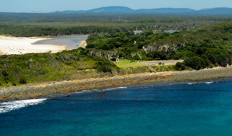Saltwater picnic area - Accommodation Search