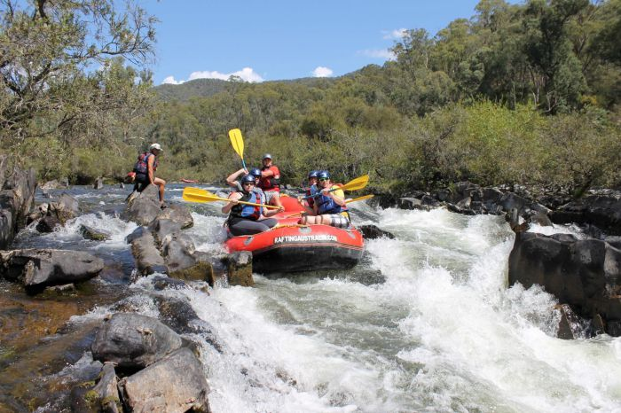 Rafting Australia - Accommodation Search