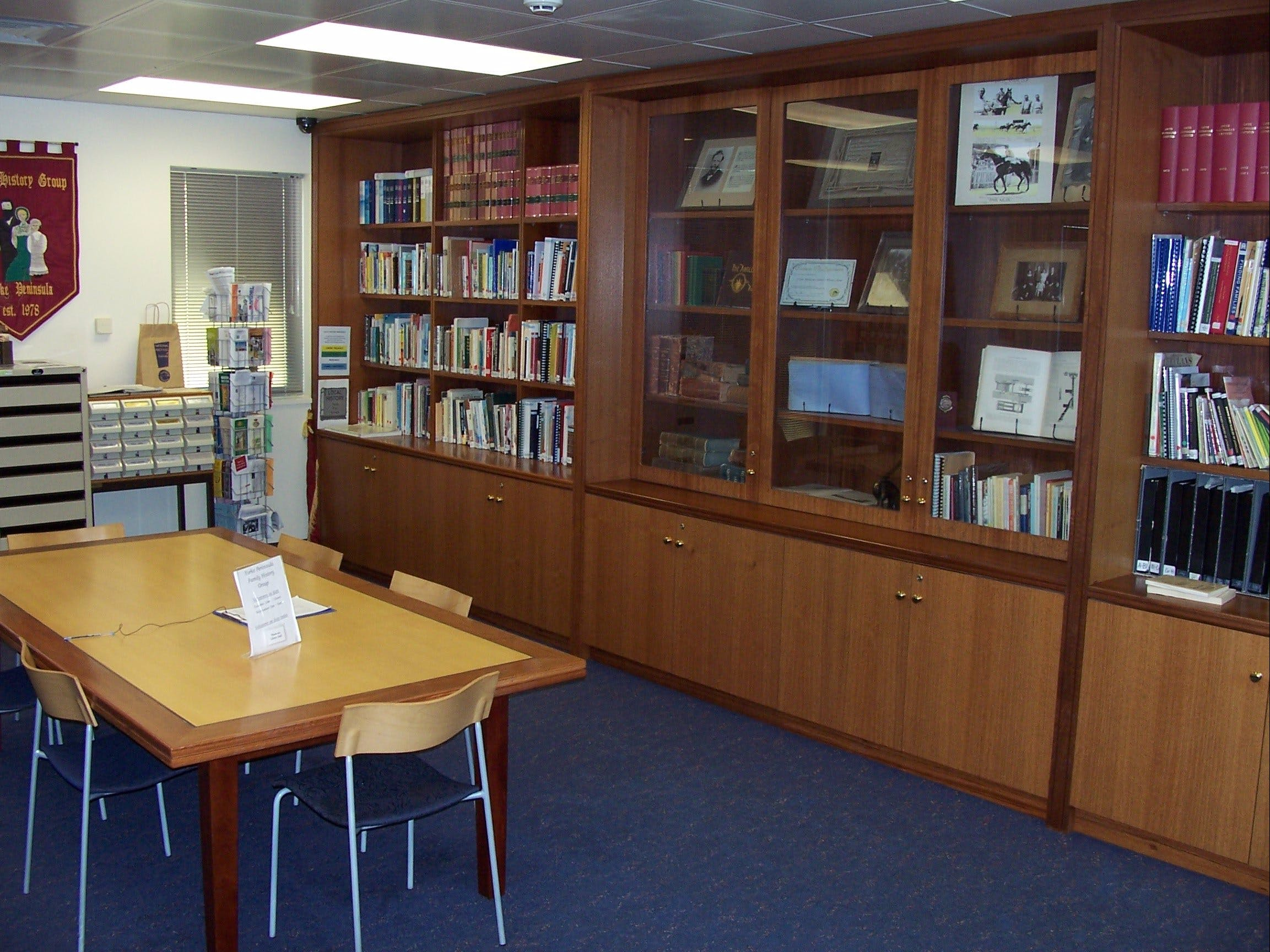 Local History Room - Accommodation Search