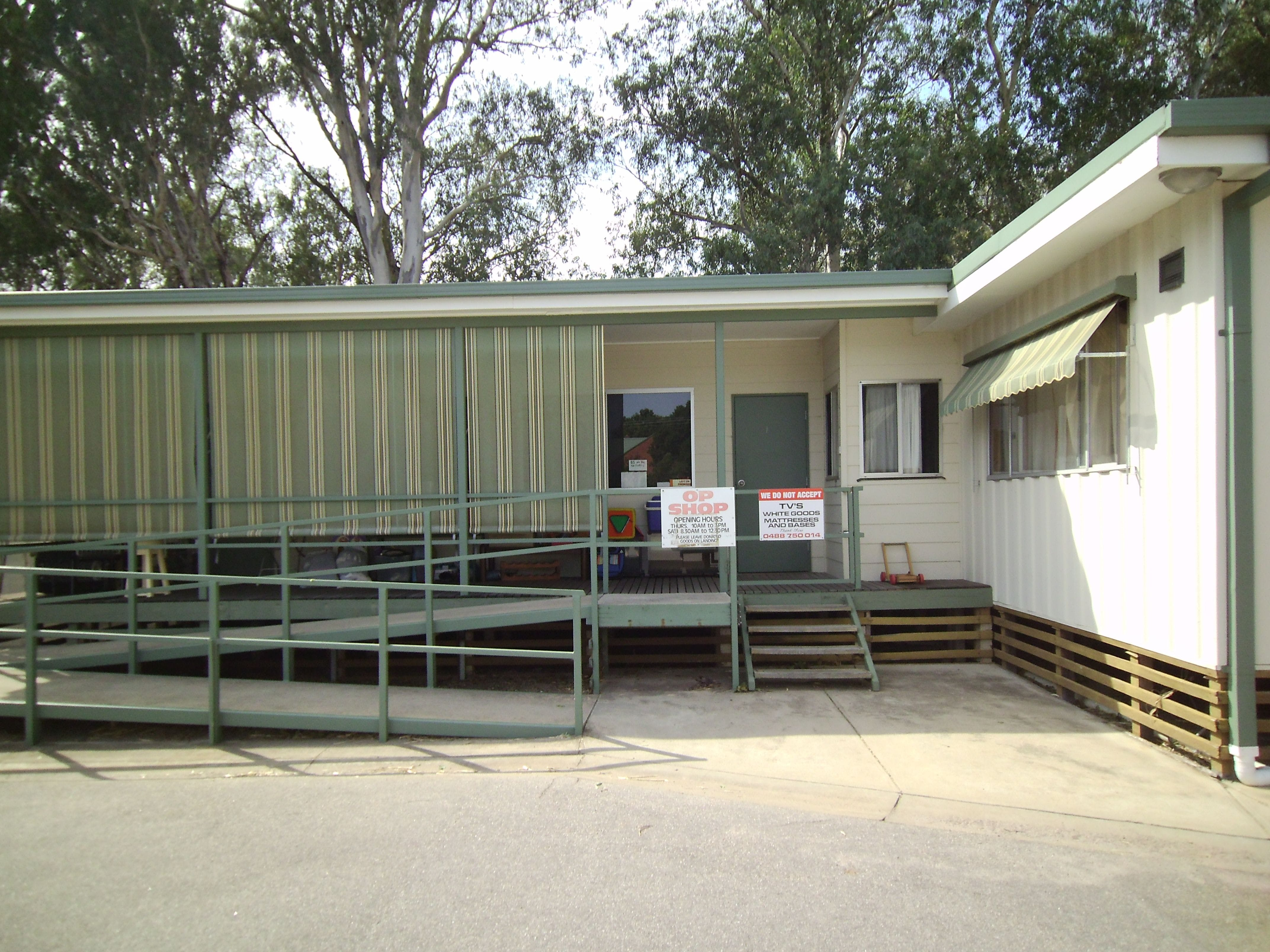 Lutheran Church Opportunity Shop - Accommodation Search