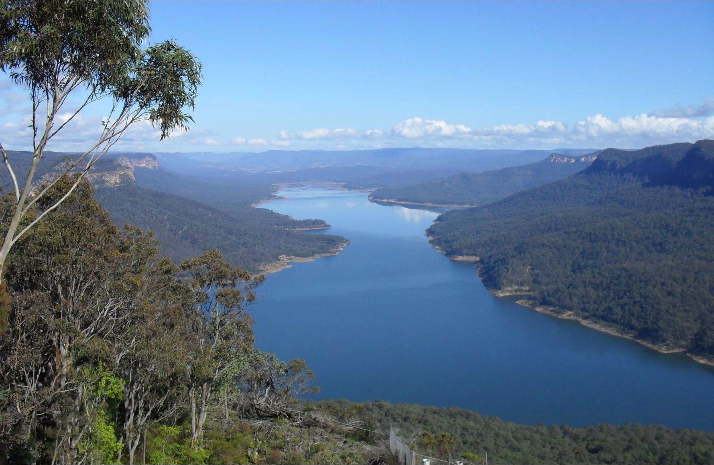 Burragorang lookout and picnic area - Accommodation Search