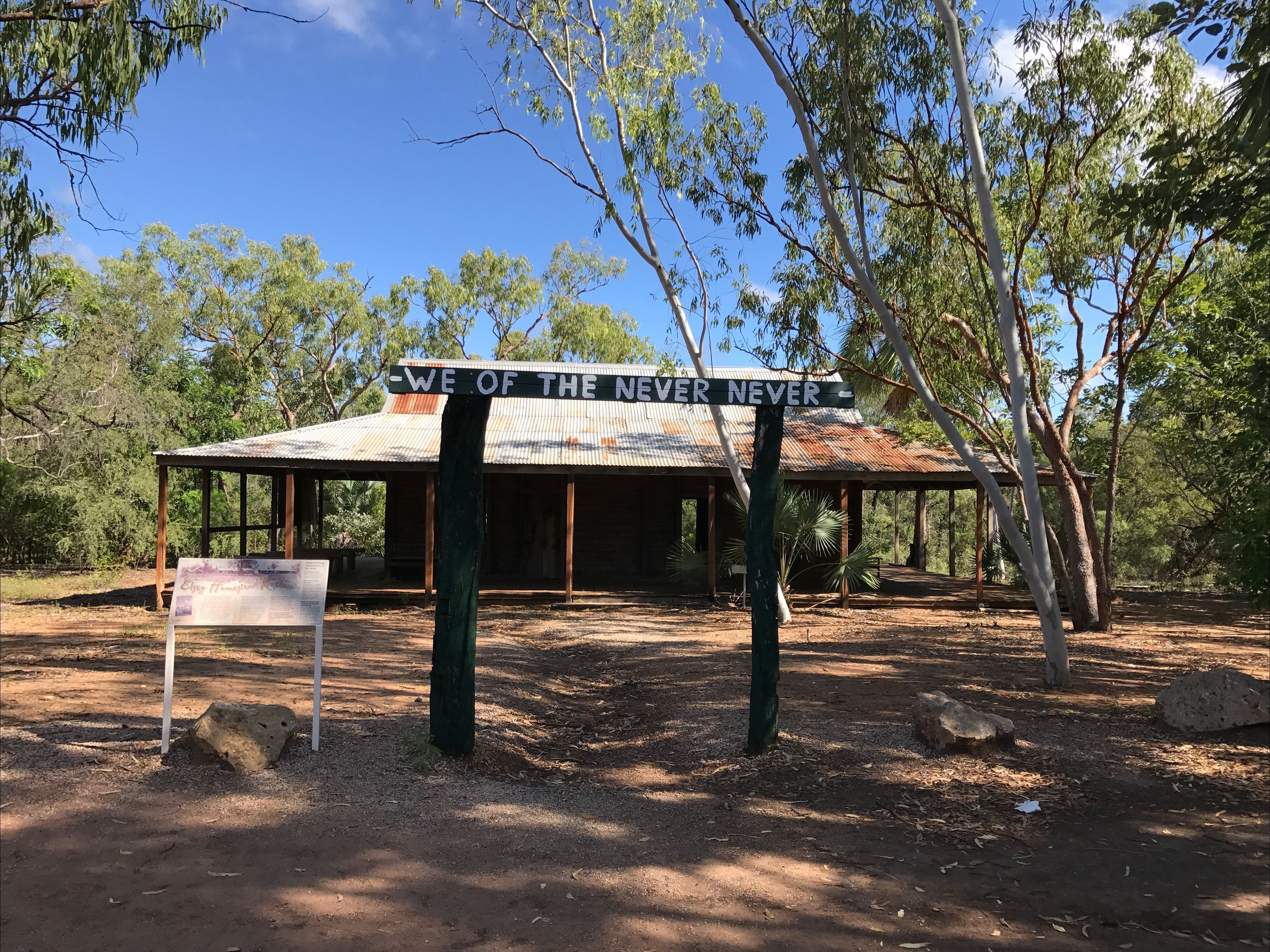 Elsey Homestead Replica - Accommodation Search