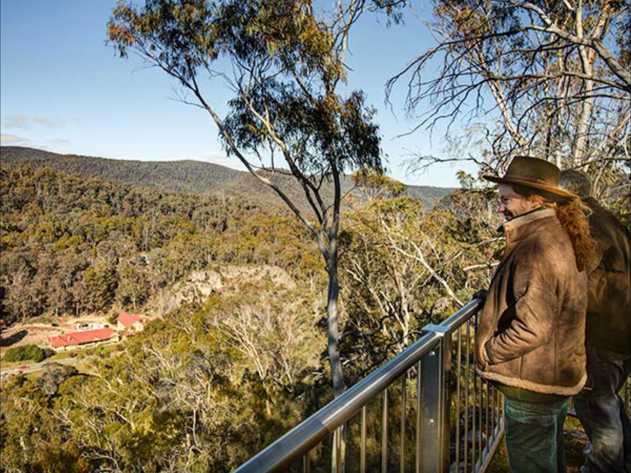 Yarrangobilly Caves  Bluff lookout walk - Accommodation Search
