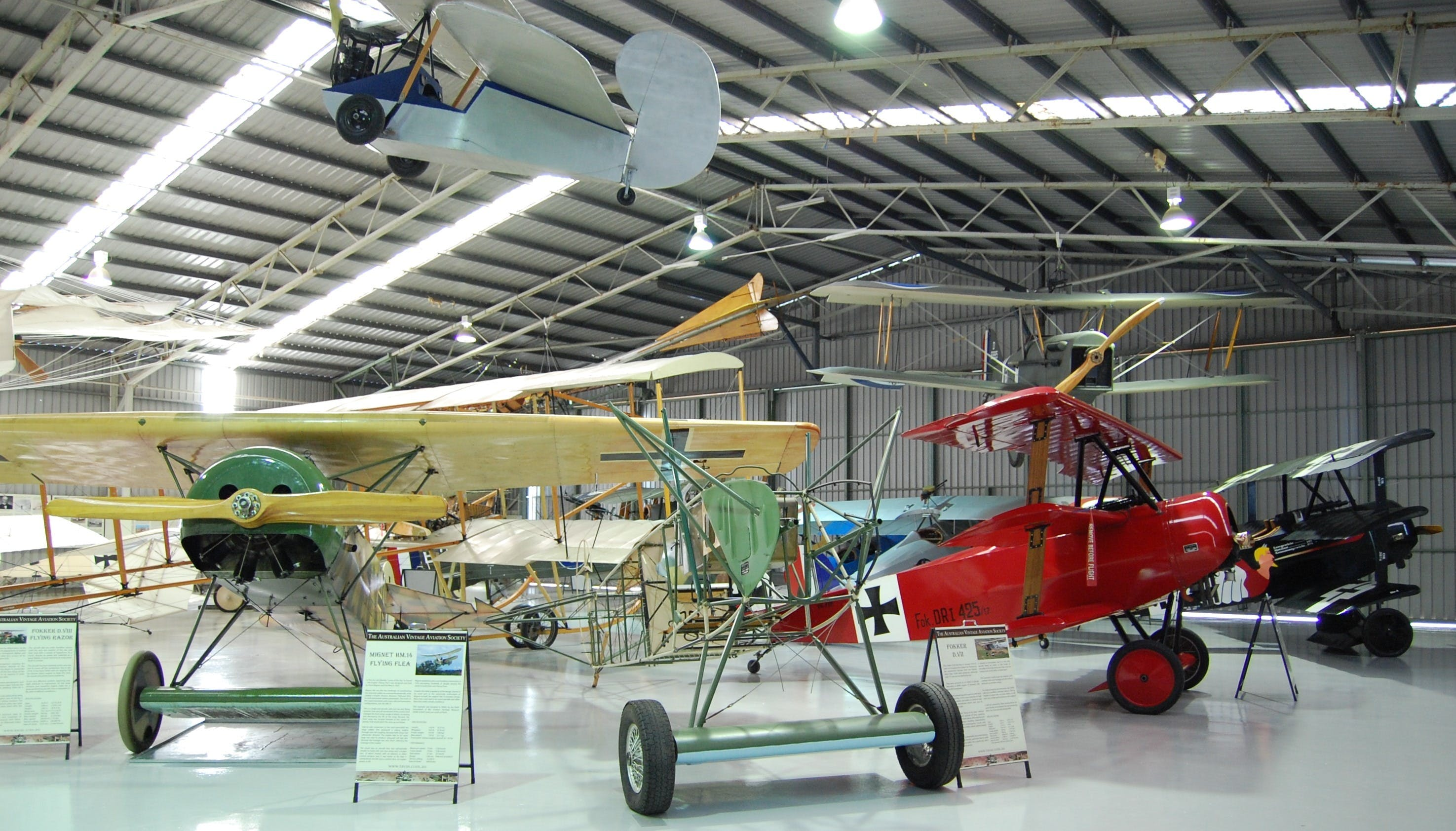 The Australian Vintage Aviation Society Museum - Accommodation Search
