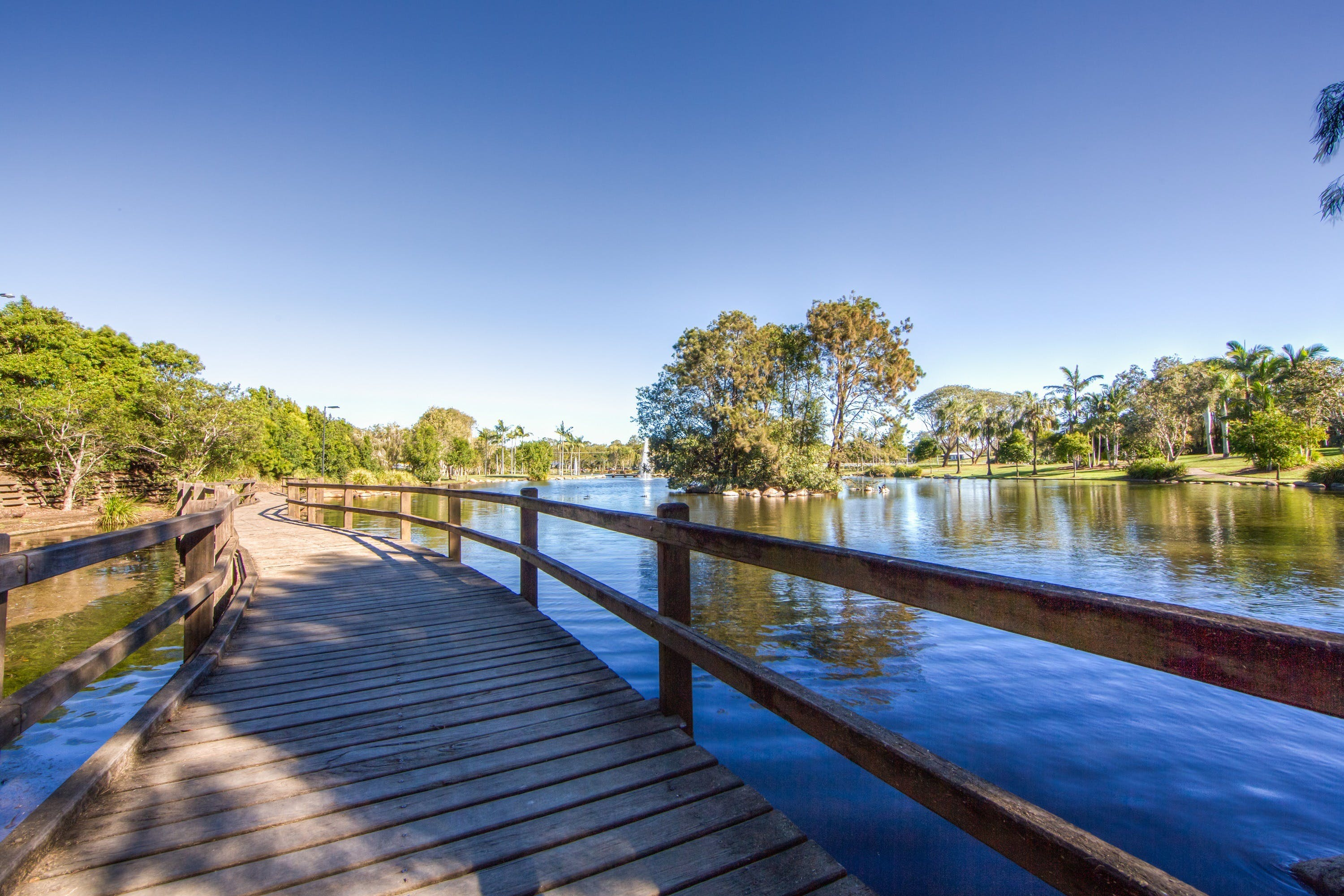 Centenary Lakes Park - Accommodation Search