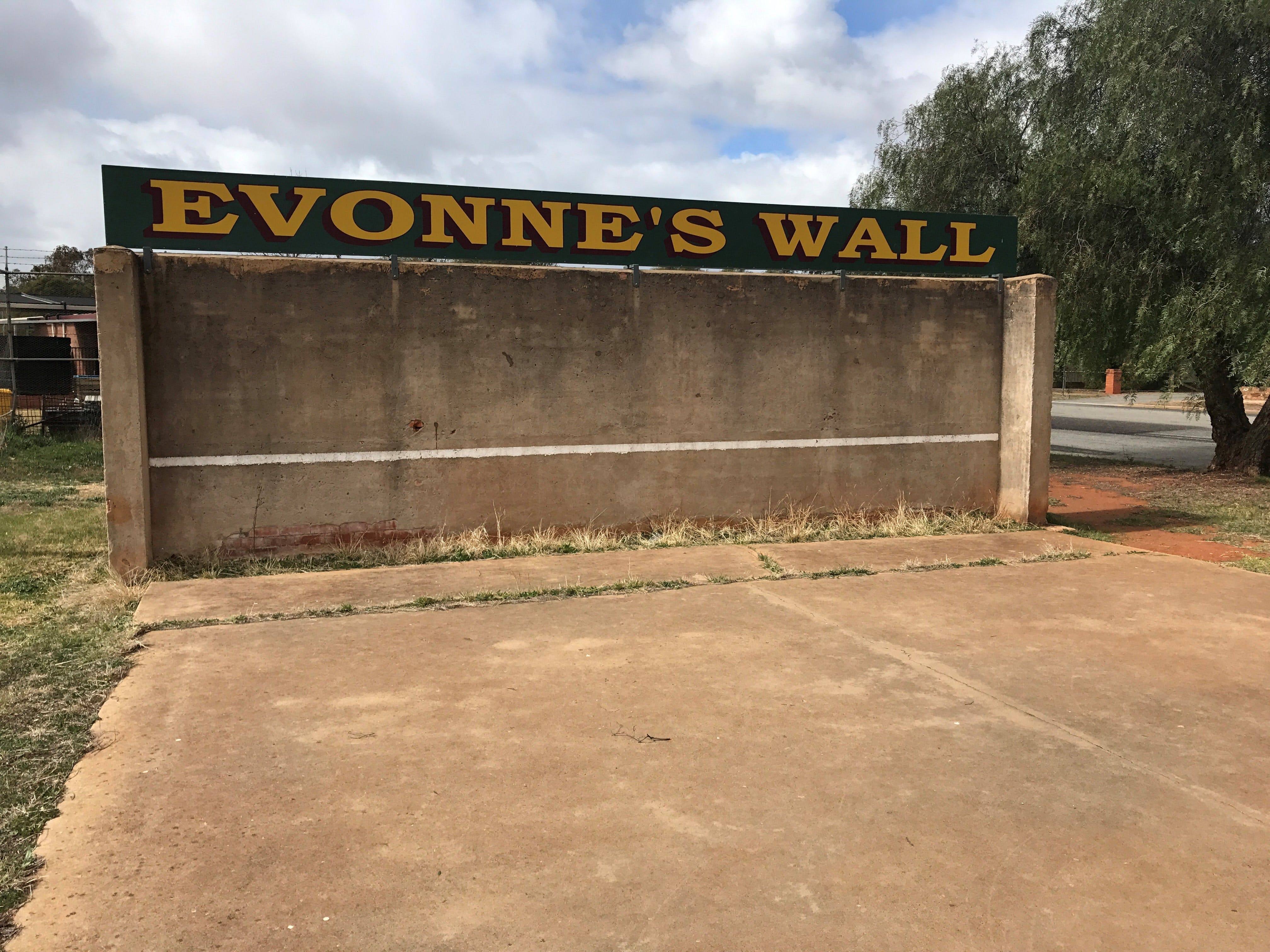 Evonne Goolagong-Cawley Wall - Accommodation Search