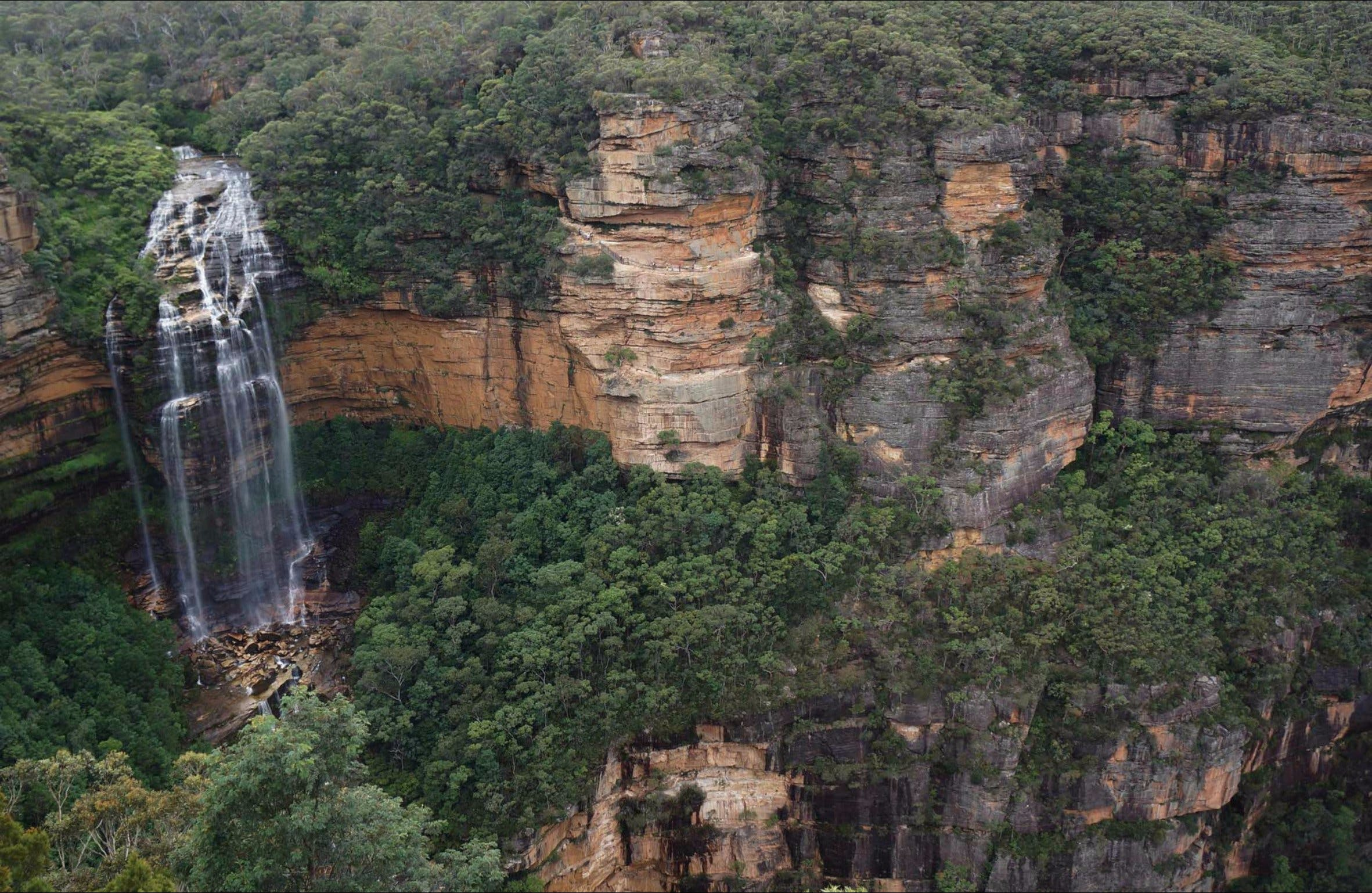 Wentworth Falls Lookout - Accommodation Search