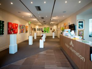Australian National Botanic Gardens Visitor Centre Gallery - Accommodation Search