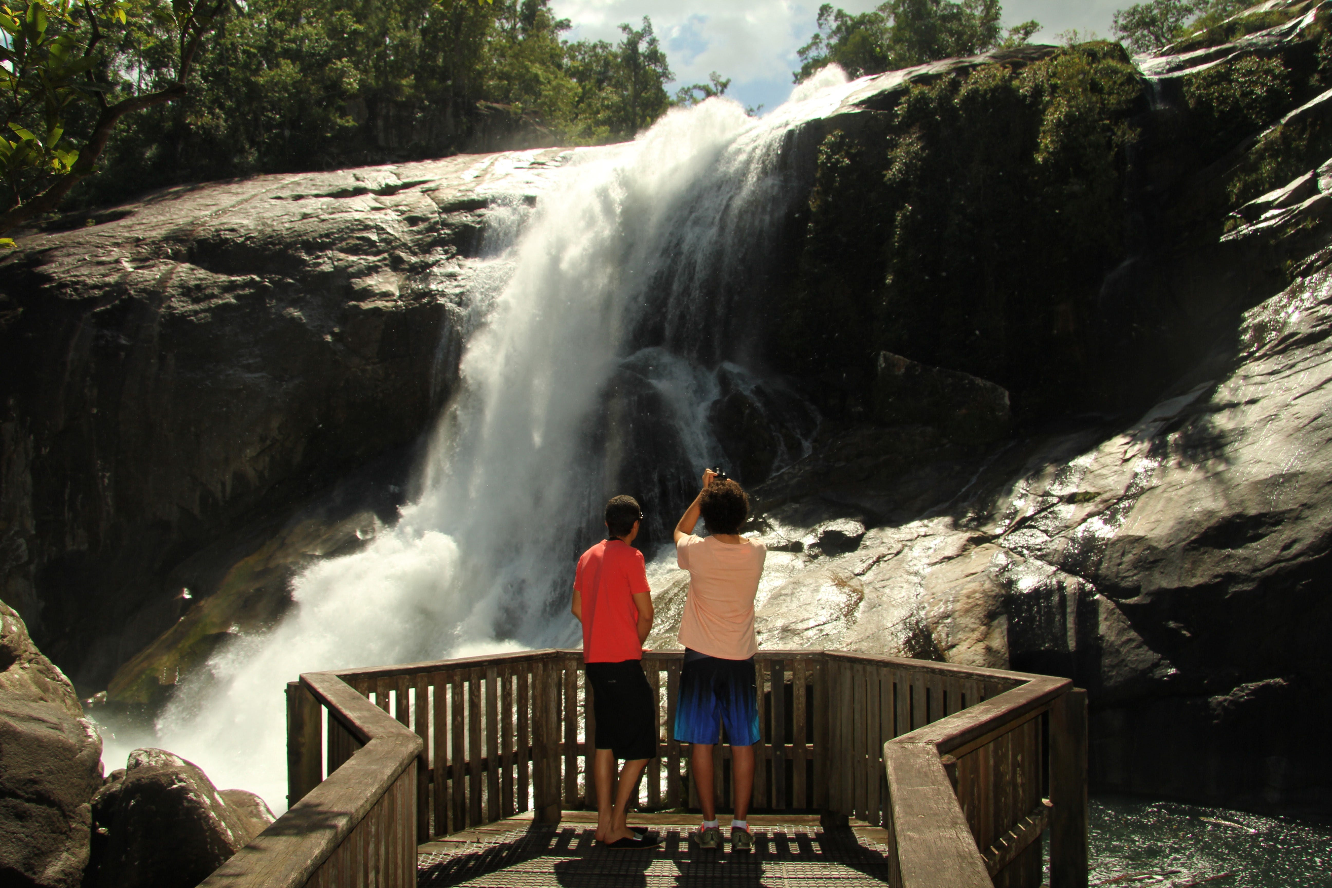 Murray Falls Girramay National Park - Accommodation Search