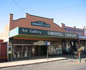 Grenfell Art Gallery - Accommodation Search