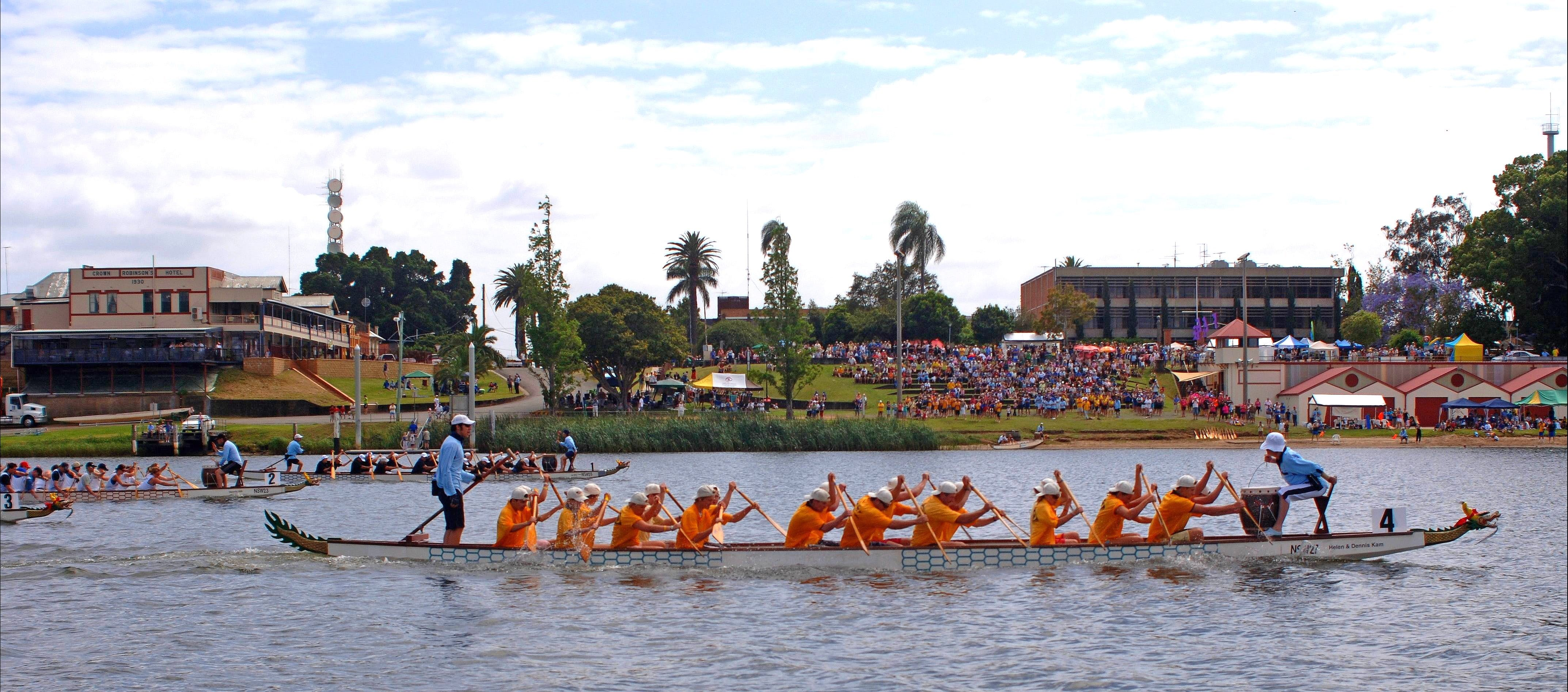 Jacaranda Dragon Boat Races - Accommodation Search