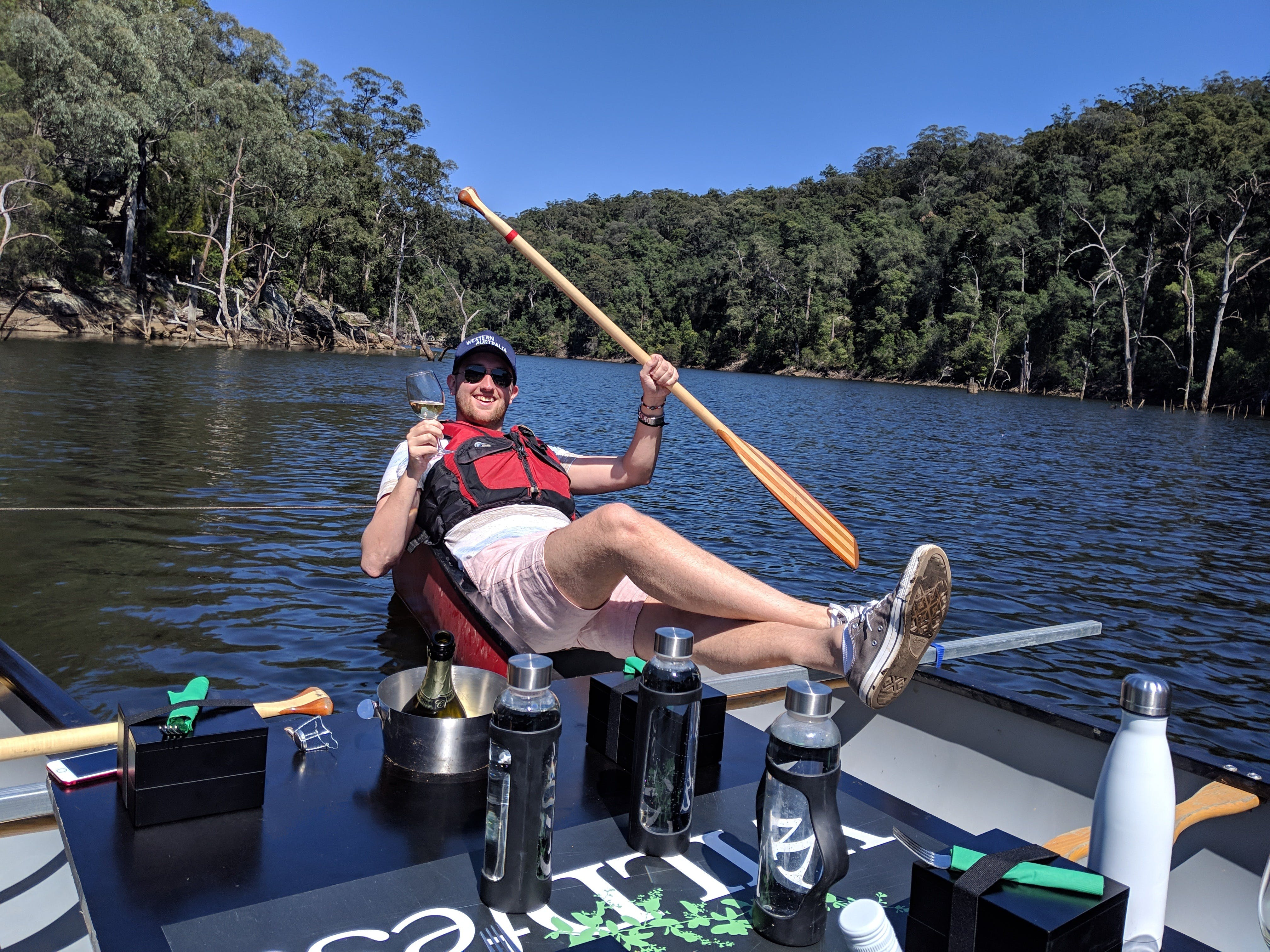 Canoes Champagne and Canaps - Accommodation Search