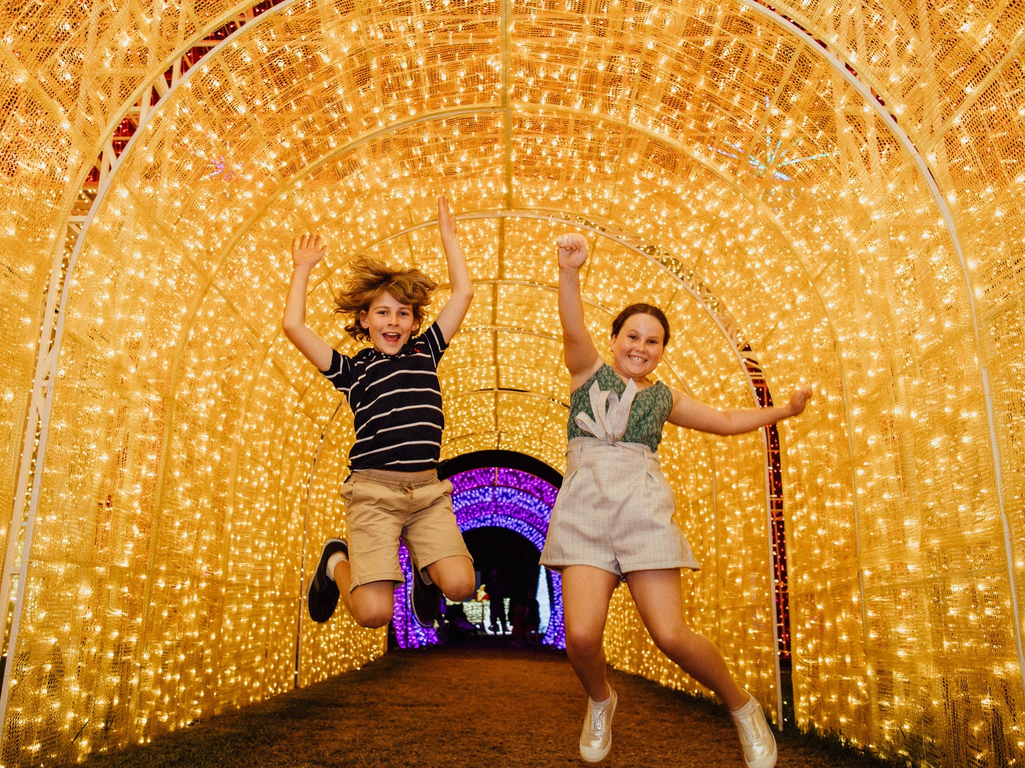 Christmas Lights Spectacular New Year's Eve at Hunter Valley Gardens - Accommodation Search