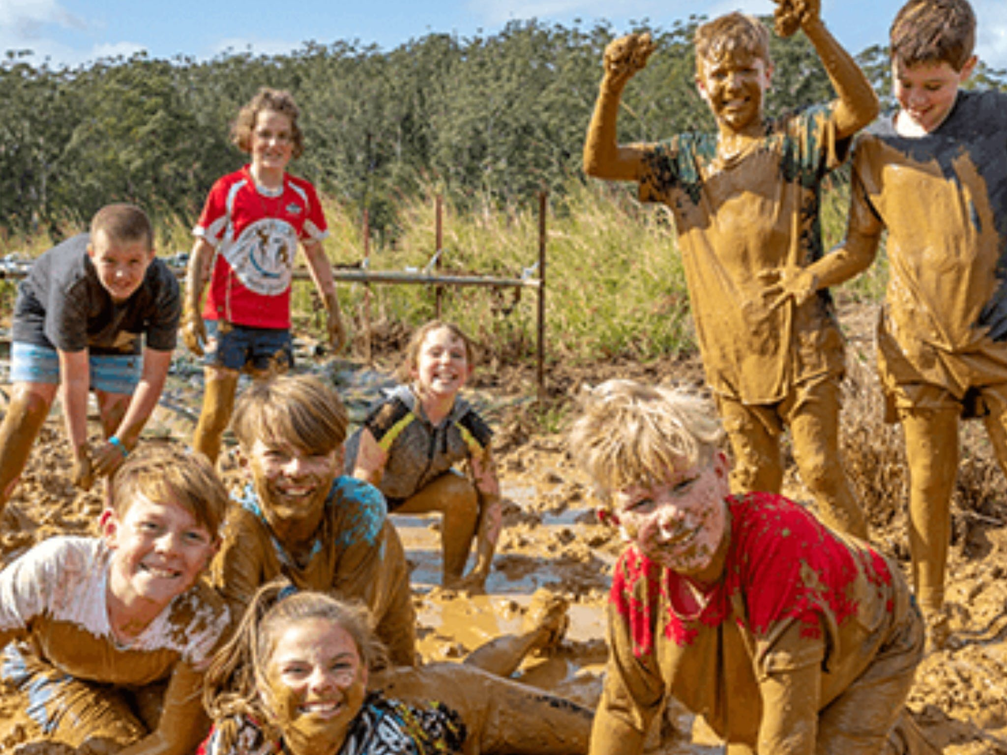 Mini Muddies Obstacle Challenge at Bunnamagoo Estate - Accommodation Search