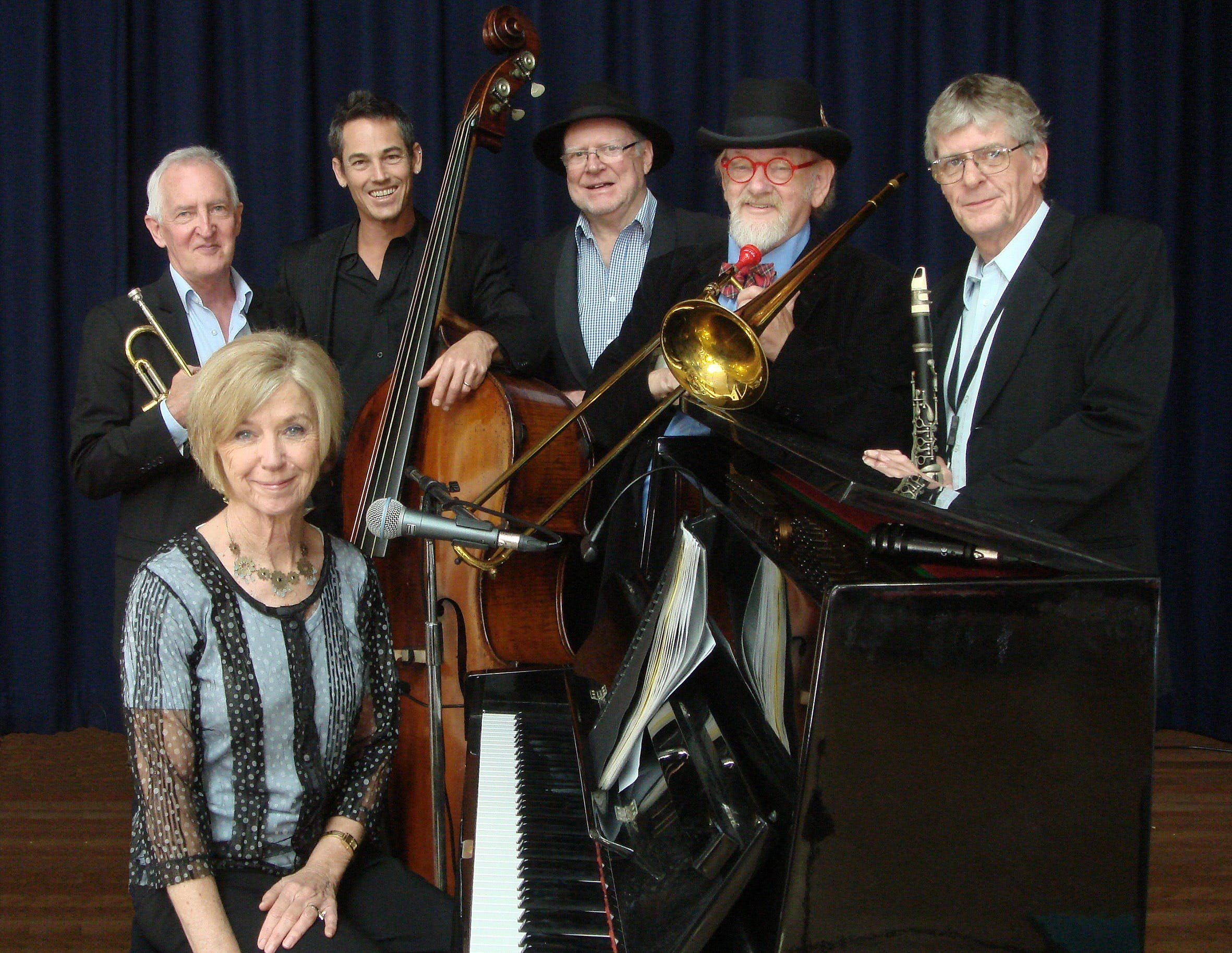 The Caxton Street Jazz Band in the Swigmore Hall at Robert Channon Wines - Accommodation Search