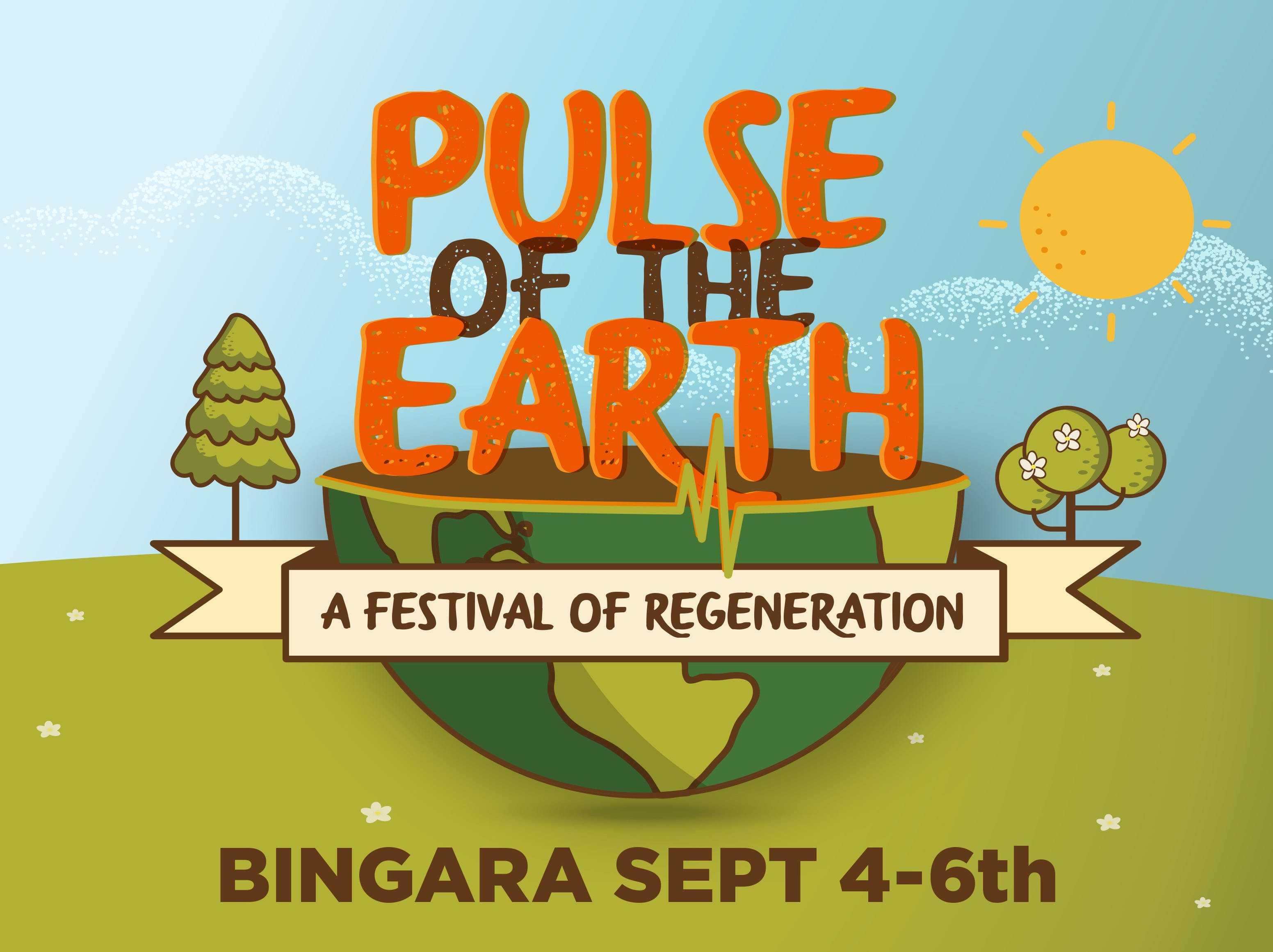 Pulse of the Earth Festival - a festival of Regeneration - Accommodation Search