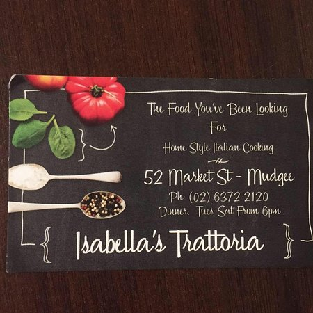 Isabella's Trattoria - Accommodation Search