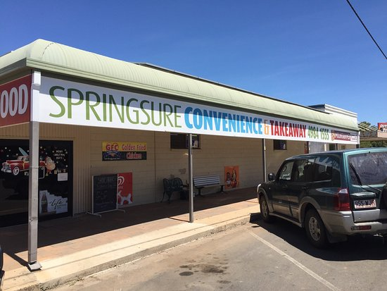 Springsure Convenience  Takeaway